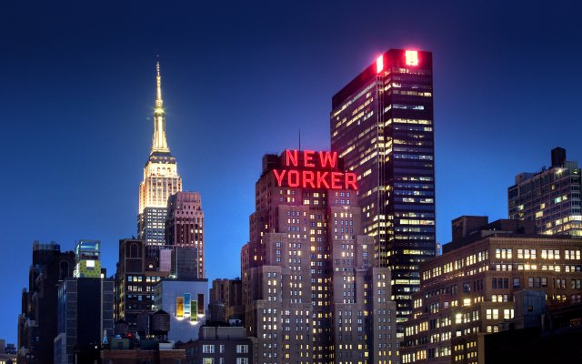 The New Yorker A Wyndham Hotel вид на фасад
