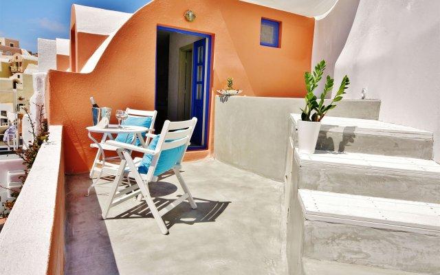 Отель Chroma Suites Греция, Остров Санторини - отзывы, цены и фото номеров - забронировать отель Chroma Suites онлайн вид на фасад