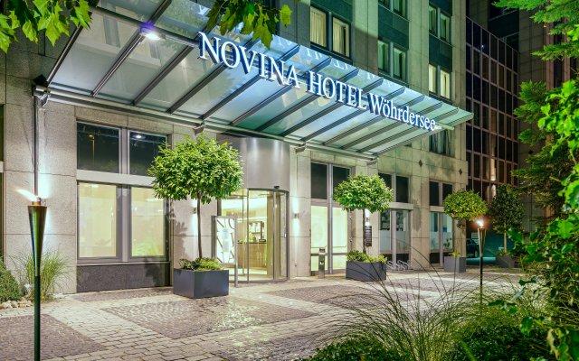 NOVINA HOTEL Wöhrdersee Nürnberg City вид на фасад
