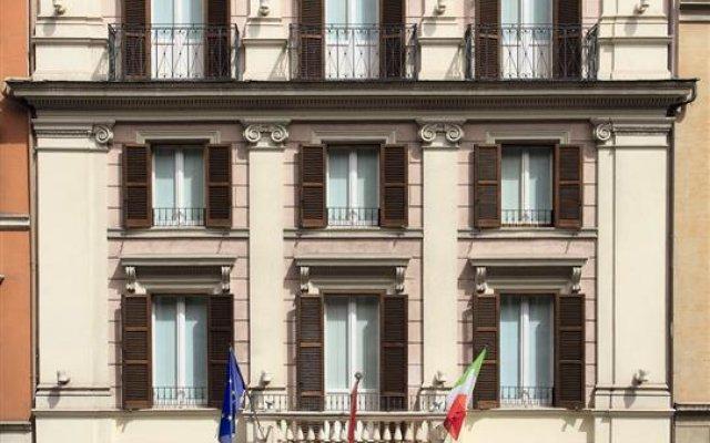 Hotel Stendhal вид на фасад