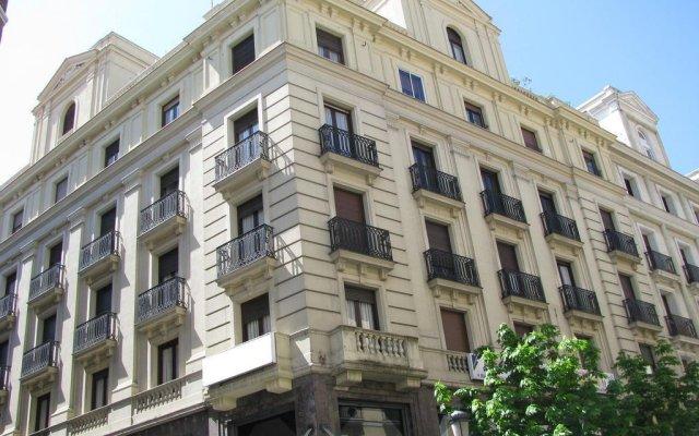Отель Hostal Abadia вид на фасад