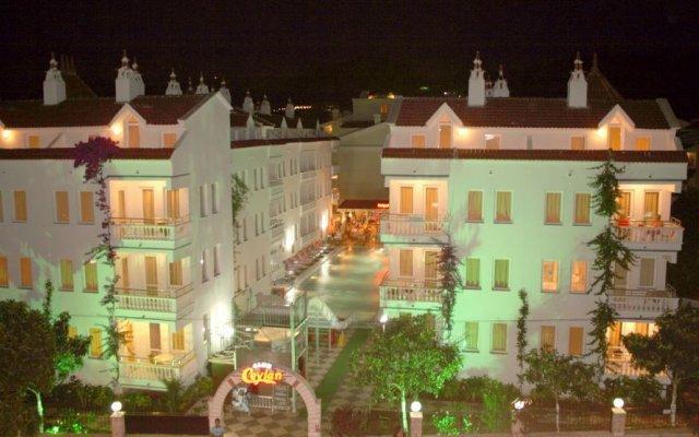 Отель Ceylan Apart Мармарис вид на фасад