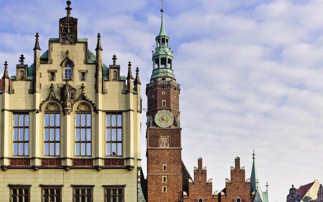 Отель Sofitel Wroclaw Old Town вид на фасад