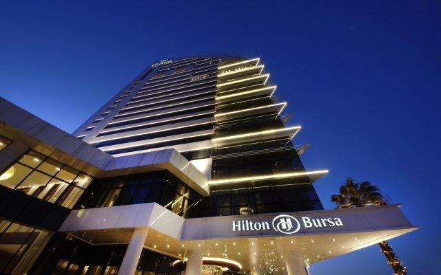 Hilton Bursa Convention Center & Spa Турция, Бурса - отзывы, цены и фото номеров - забронировать отель Hilton Bursa Convention Center & Spa онлайн вид на фасад
