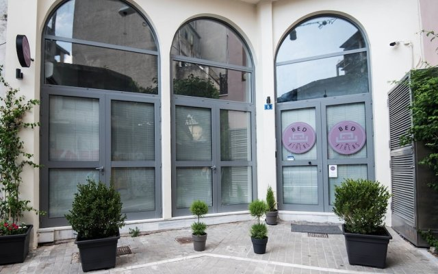 Отель BED in Athens Греция, Афины - отзывы, цены и фото номеров - забронировать отель BED in Athens онлайн вид на фасад