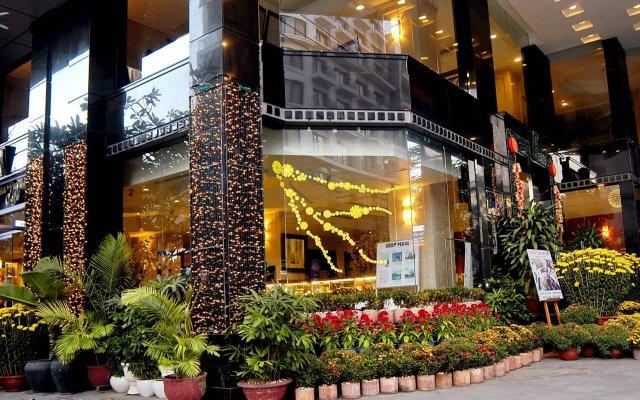 Отель Asia Paradise Hotel Вьетнам, Нячанг - отзывы, цены и фото номеров - забронировать отель Asia Paradise Hotel онлайн вид на фасад