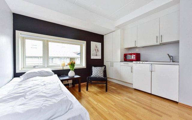 Отель Forenom Apartments Pilestredet Park Норвегия, Осло - отзывы, цены и фото номеров - забронировать отель Forenom Apartments Pilestredet Park онлайн комната для гостей