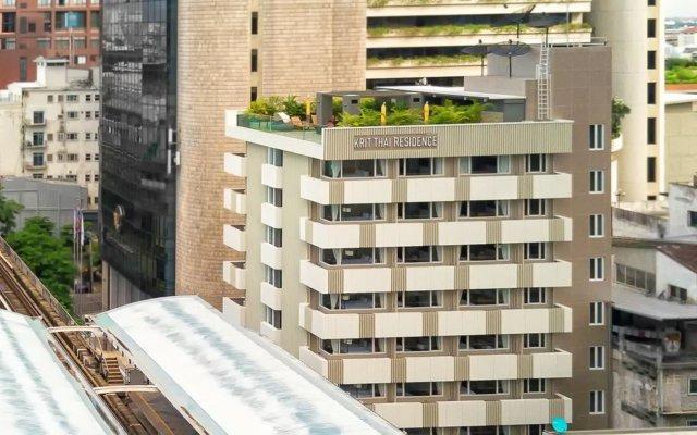 Отель KritThai Residence вид на фасад