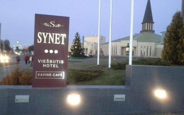 Отель Synet Литва, Мажейкяй - отзывы, цены и фото номеров - забронировать отель Synet онлайн вид на фасад