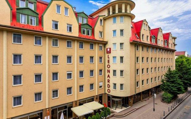 Отель Leonardo Hotel Budapest Венгрия, Будапешт - 1 отзыв об отеле, цены и фото номеров - забронировать отель Leonardo Hotel Budapest онлайн вид на фасад