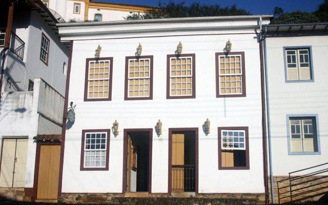 Отель Pousada Solar Senhora das Mercês вид на фасад