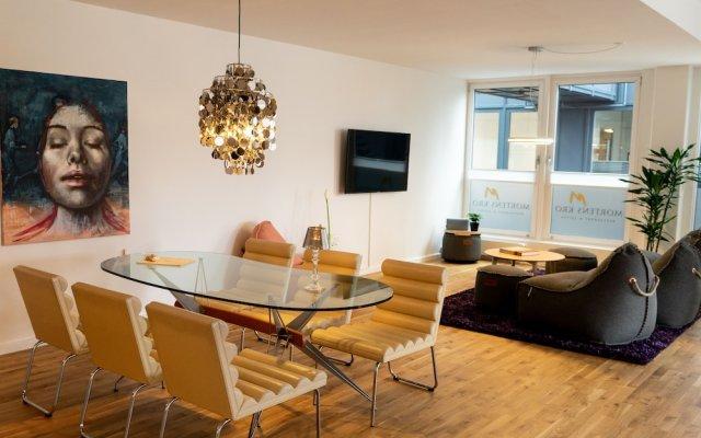 Отель Mortens Kro Restaurant & Suites Алборг комната для гостей