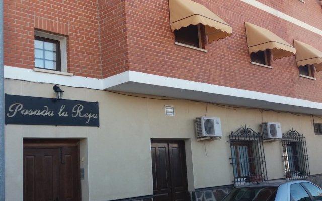 Отель Posada la Reja вид на фасад