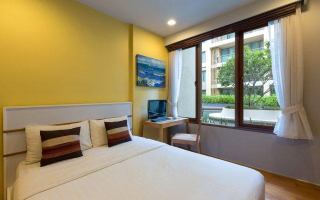 Отель Baan Sansuk Beachfront Condominium Таиланд, Хуахин - отзывы, цены и фото номеров - забронировать отель Baan Sansuk Beachfront Condominium онлайн комната для гостей