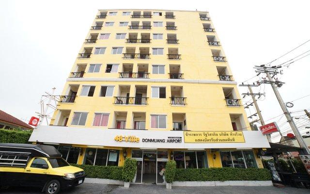 Отель 48 Ville Бангкок вид на фасад