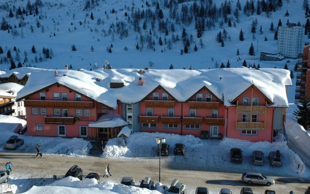 Hotel Panorama In Adamello Italy From