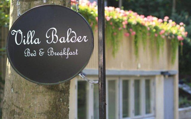 Отель Villa Balder Bed & Breakfast вид на фасад