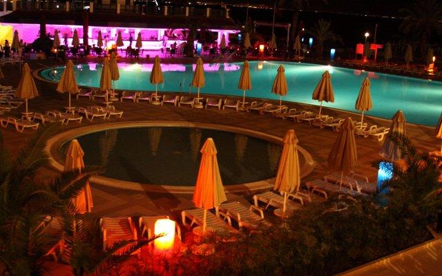 Отель Hydros Club Кемер вид на фасад
