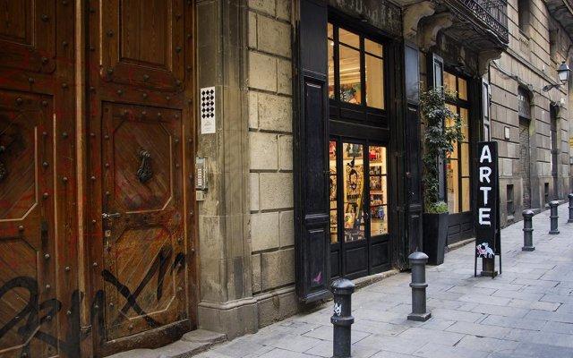 Отель Brun Barcelona Bed and Breakfast Испания, Барселона - отзывы, цены и фото номеров - забронировать отель Brun Barcelona Bed and Breakfast онлайн вид на фасад