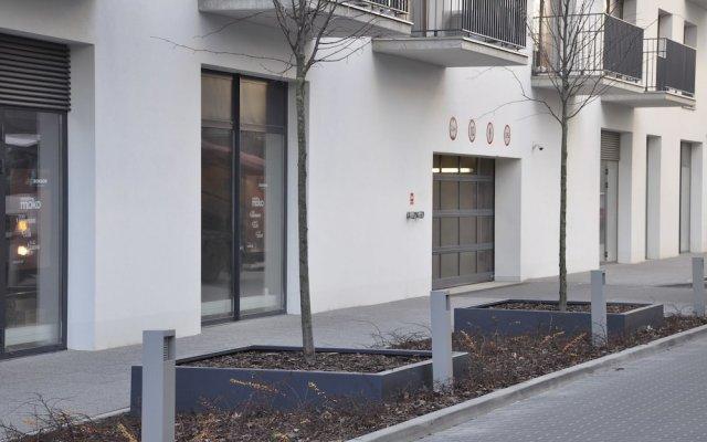 Апартаменты Prudentia Apartments Moko Residence вид на фасад