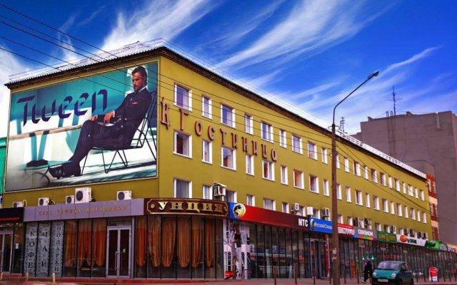 Отель Строитель Сыктывкар вид на фасад
