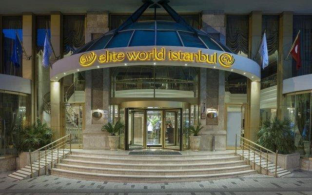 Elite World Istanbul Hotel Турция, Стамбул - отзывы, цены и фото номеров - забронировать отель Elite World Istanbul Hotel онлайн вид на фасад