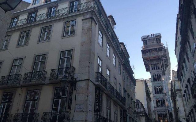 Отель Santa Justa Suite by Homing Португалия, Лиссабон - отзывы, цены и фото номеров - забронировать отель Santa Justa Suite by Homing онлайн вид на фасад