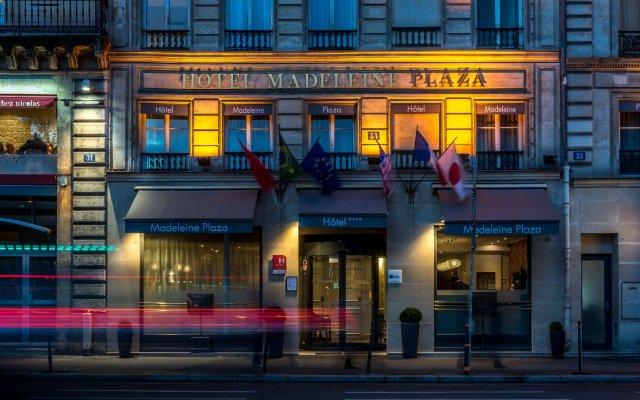 Отель Hôtel Madeleine Plaza вид на фасад