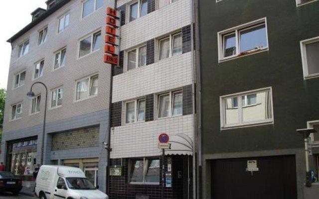 Hotel Einig вид на фасад