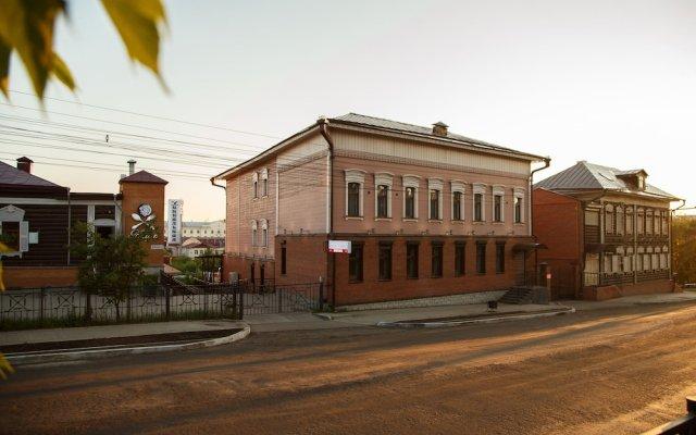 Гостиница Soviet Hotel в Иркутске 1 отзыв об отеле, цены и фото номеров - забронировать гостиницу Soviet Hotel онлайн Иркутск вид на фасад