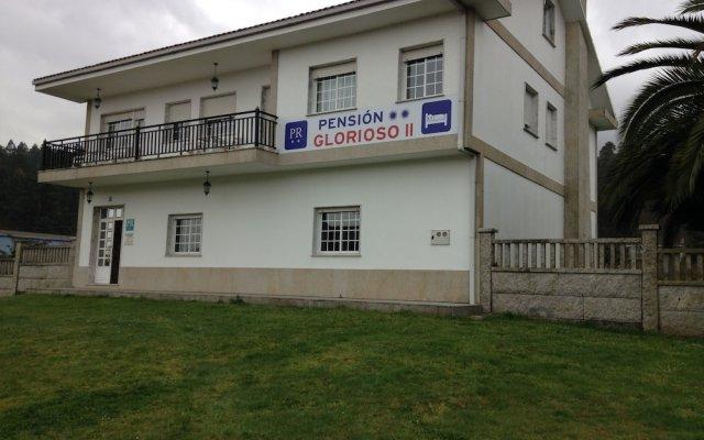 Отель Pension Glorioso Падрон вид на фасад
