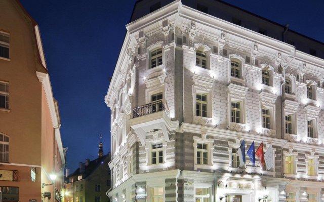 Отель Telegraaf Эстония, Таллин - 2 отзыва об отеле, цены и фото номеров - забронировать отель Telegraaf онлайн вид на фасад