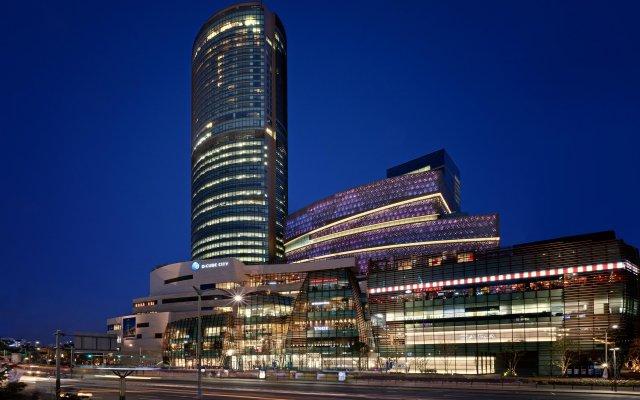 Отель Sheraton Seoul D Cube City Hotel Южная Корея, Сеул - отзывы, цены и фото номеров - забронировать отель Sheraton Seoul D Cube City Hotel онлайн вид на фасад