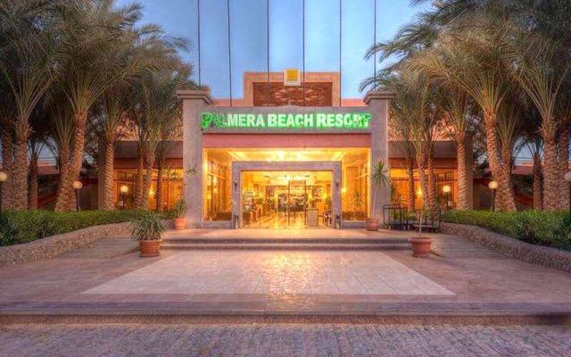 Отель Palmera Azur Resort вид на фасад