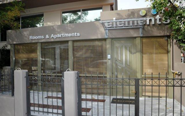 Отель Elements Rooms and Apartments Греция, Маруси - отзывы, цены и фото номеров - забронировать отель Elements Rooms and Apartments онлайн вид на фасад