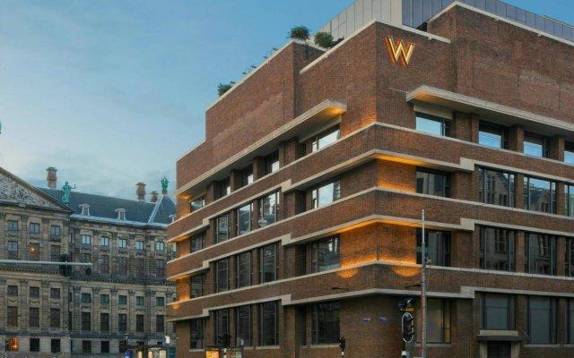 Отель W Amsterdam Нидерланды, Амстердам - отзывы, цены и фото номеров - забронировать отель W Amsterdam онлайн вид на фасад