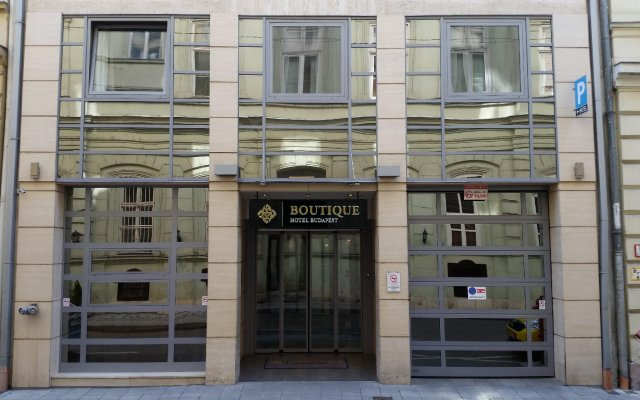 Boutique Hotel Budapest вид на фасад