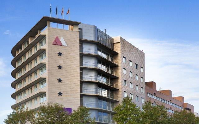 Отель Mercure Atenea Aventura вид на фасад
