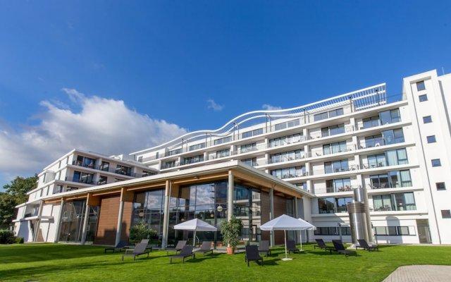 Отель Carat Residenz-Apartmenthaus вид на фасад