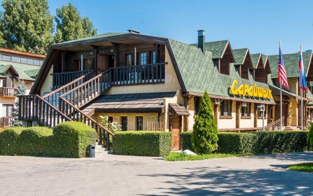 Гостиница Сарайшык вид на фасад