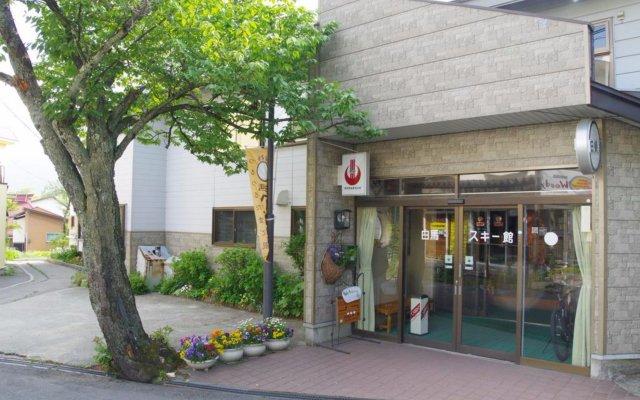 Отель Hakuba Ski Kan Хакуба вид на фасад