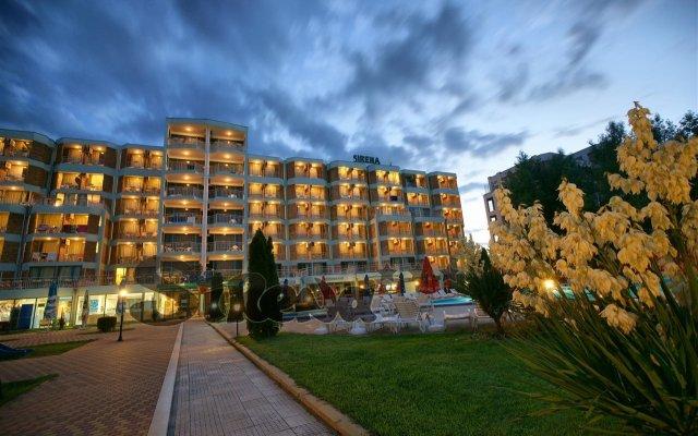 Отель Sirena вид на фасад