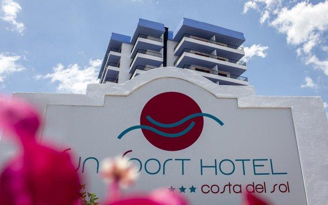 Sun Sport Hotel вид на фасад