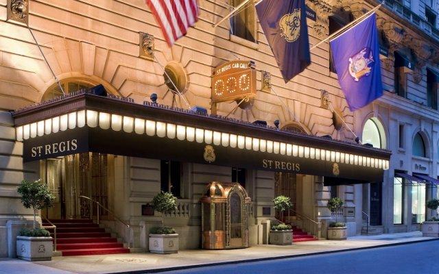 Отель The St. Regis New York США, Нью-Йорк - отзывы, цены и фото номеров - забронировать отель The St. Regis New York онлайн вид на фасад