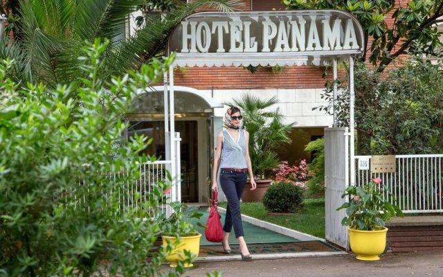 Отель Panama Garden вид на фасад