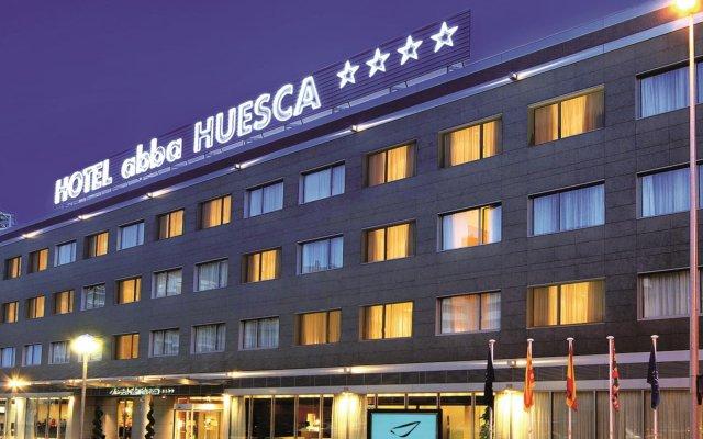 Отель Abba Huesca Уэска вид на фасад