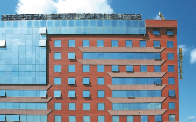 Отель Hesperia Sant Joan Suites вид на фасад
