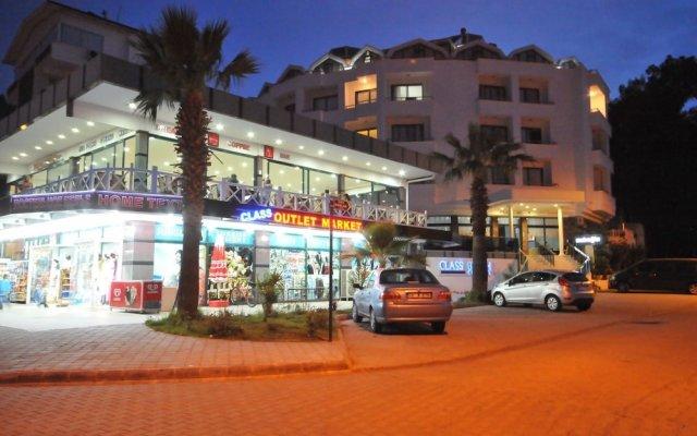 Отель CLASS BEACH MARMARİS Мармарис вид на фасад