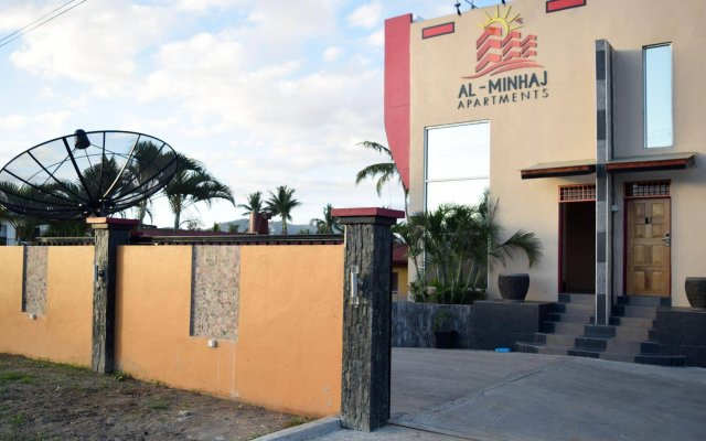 Апартаменты Al-Minhaj Service Apartments вид на фасад
