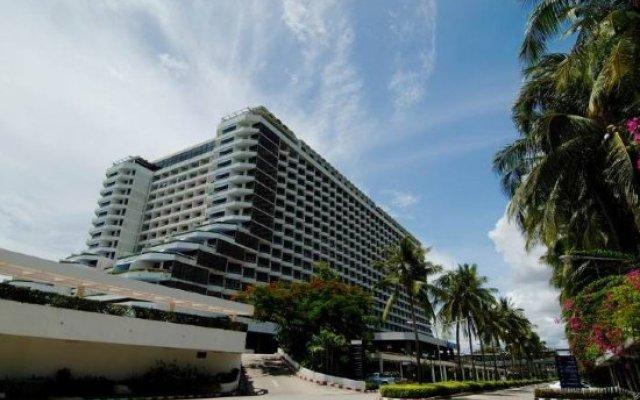 Отель Ambassador City Jomtien Pattaya (Marina Tower Wing) вид на фасад